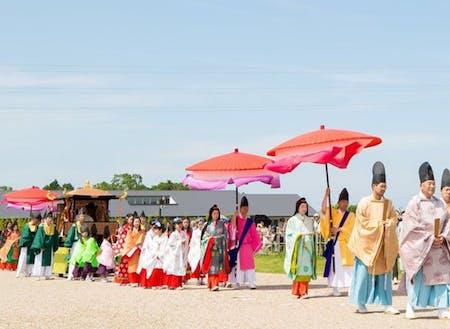 イベント時では、斎王の行列もあります。観光客も年々増えてますが・・・