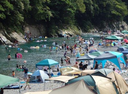夏の銚子川