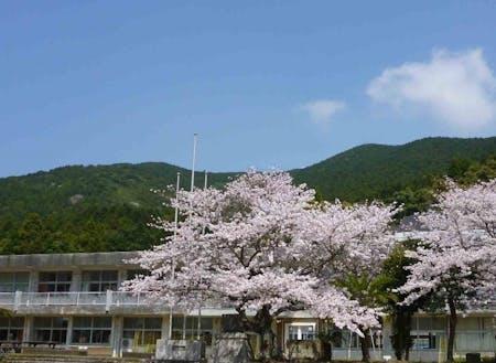 平成の終わりとともに廃校となった小学校。この春始動予定です!