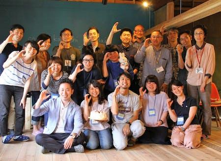 釜石ローカルベンチャーコミュニティの仲間たち