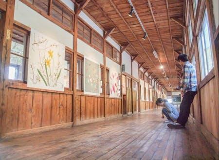 西会津国際芸術村(木造校舎をリノベーション)