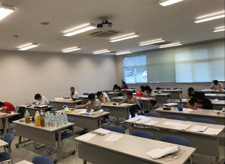 名桜大学の部屋を借りて勉強合宿