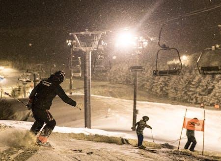 オフも大事。冬は市街地から5分ほどのところにスキー場があります