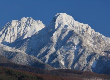 晴天率の高い茅野市。寒くても、明るい。そんな冬です。