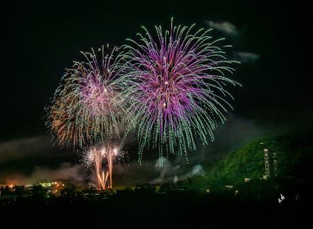 夏に行われる上砂川町最大のイベント仮装盆踊り花火大会
