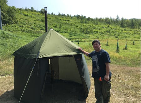 町の特産品開発やテントサウナイベントなどを行っている大澤隊員