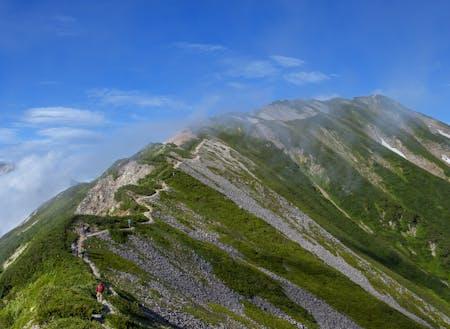 白馬村の夏登山