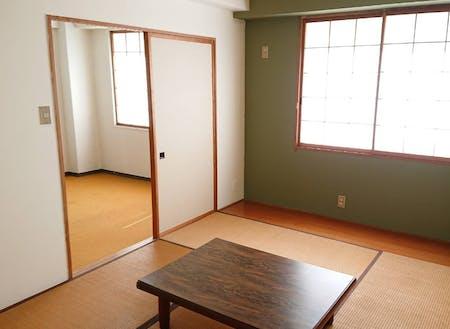 お部屋は和室と洋室の2部屋です。リノベーション済。