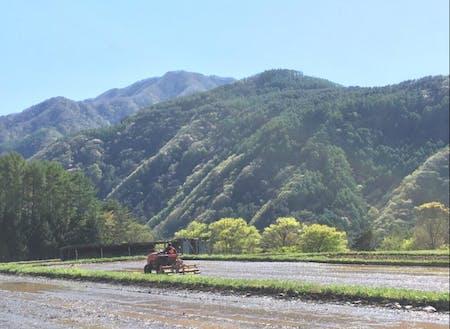 美しい風景の中で営む農業