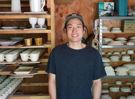 「これで飲みたい」酒器を制作する陶芸家の阿部春弥さん