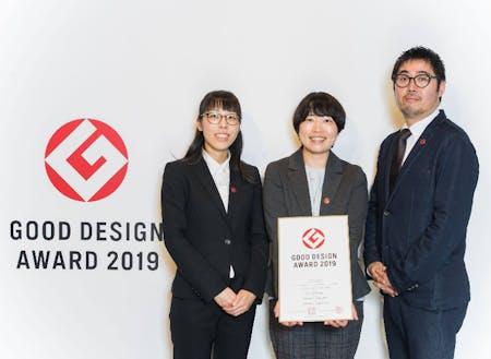 2019年10月グッドデザイン賞を受賞