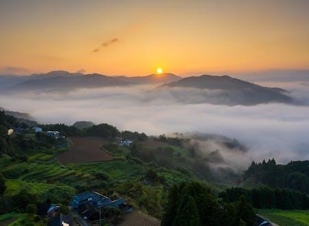 内子町の雲海