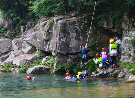 銚子川の遊び