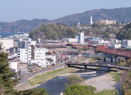 釜石市街地