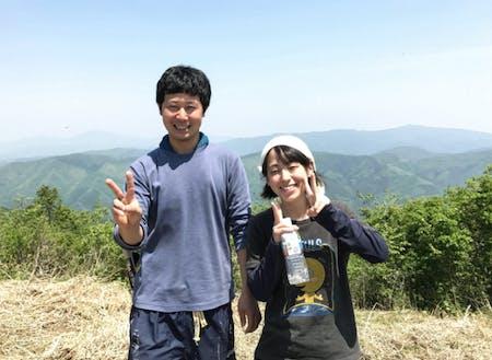 ゲスト③平山直さん(左)・平山朋花さん(右)