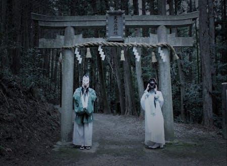 天乃石立神社のコスプレ写真(刀剣乱舞 石切丸)