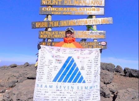 2017年 キリマンジャロ登頂を果たして