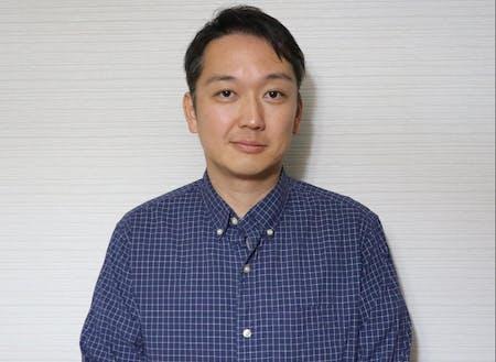 『移住者体験談』講演者の濱名広行さん。