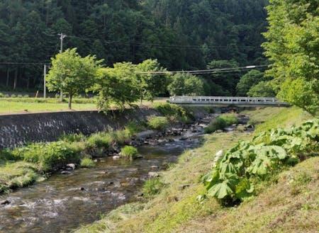昔にタイムスリップできる長野県辰野町横川