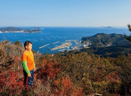 菅島(三重県・鳥羽市) 三重県南東部の志摩半島の先、約3kmのところに浮かぶ島。