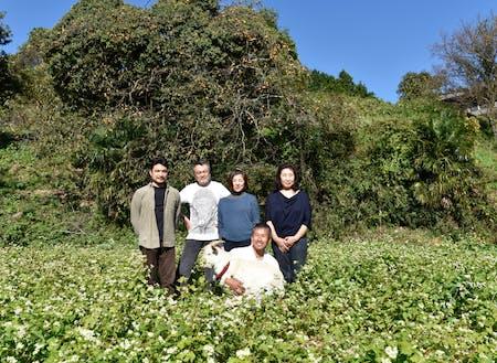 奈良市の隠れ里Nyu farm実行委員会メンバー