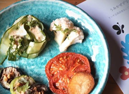 野菜が美味しい...!!