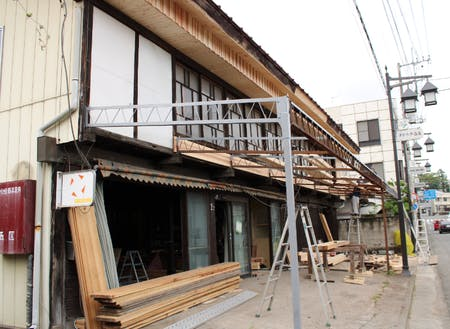 改修中の古民家(1)