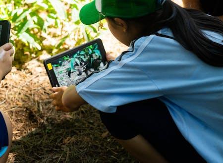 自然とICTの活用も伊那の教育の特徴