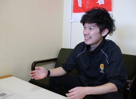 那珂市役所政策企画課、地域おこし協力隊担当の古茂田さんです!