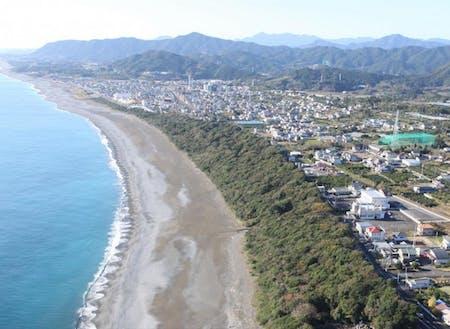 御浜町を空から撮った写真です!