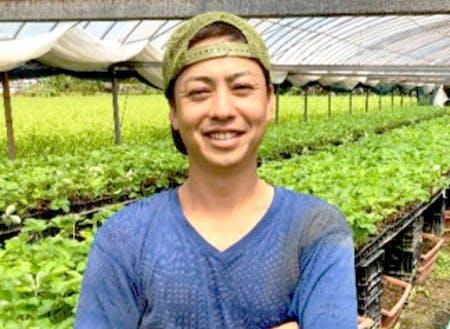 2016年に佐川町でいちご農家になった小松さん