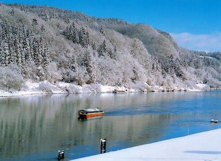 冬の最上峡