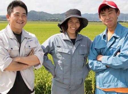 農業の先輩たちが活躍しています!