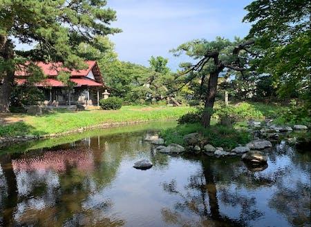 宮越家「離れ・庭園」