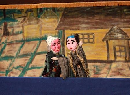 伝統人形劇「金多豆蔵(きんたまめじょ)」人形芝居