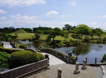 観光名所・水前寺成趣園