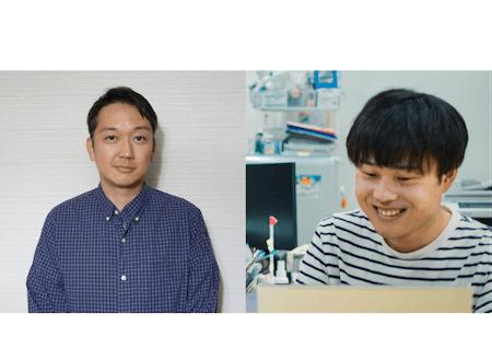 (左から)濱名さん、櫻庭さん