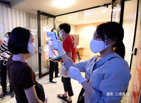 豊岡演劇祭2020では、新型コロナウイルス感染症対策が重要課題でした