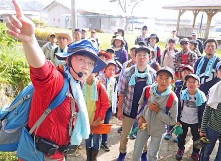 親子向け環境教育ツアー