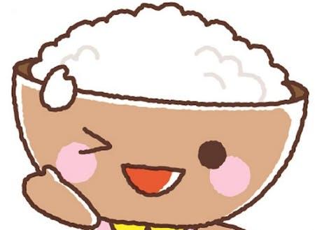 村のマスコットキャラクター「ゆがわまいちゃん」