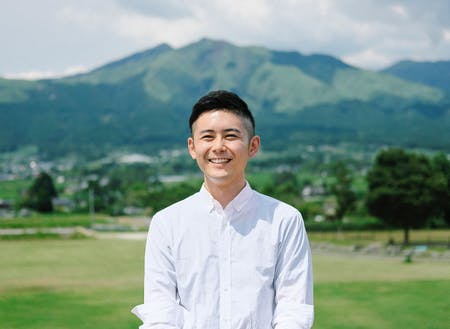 合同会社阿蘇人(アソウト)代表の石垣圭佑氏