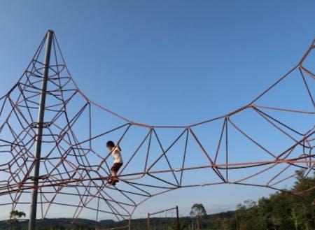 兵庫県立防災公園内の遊具