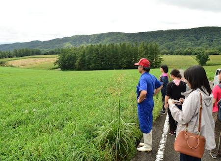西白河郡の農地への訪問