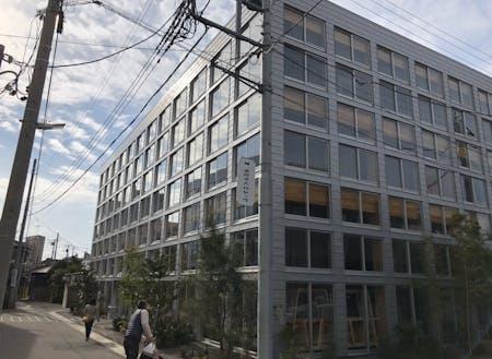 カヤックの新オフィス(研究開発棟)