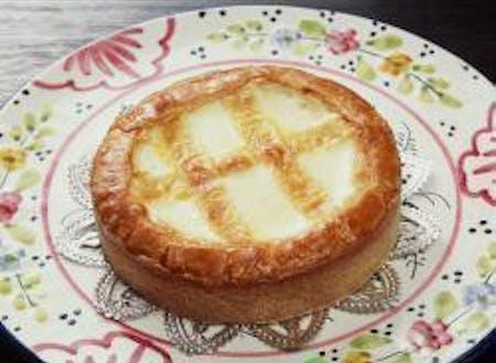 ▲お土産の名品「トロイカ」のチーズケーキ♪マジで絶品です