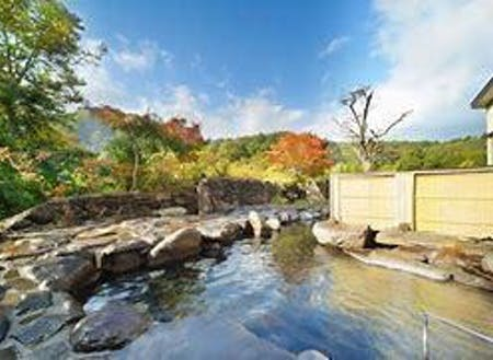 ▲県内でも有名なトロトロの温泉「美人の湯 瀬美温泉」で女子力UP