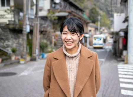 登壇者:元椎葉村地域おこし協力隊で椎葉村で企業した天野さん