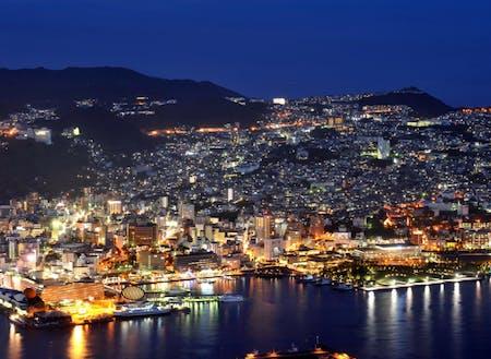 世界新三大夜景に認定された長崎市の夜景