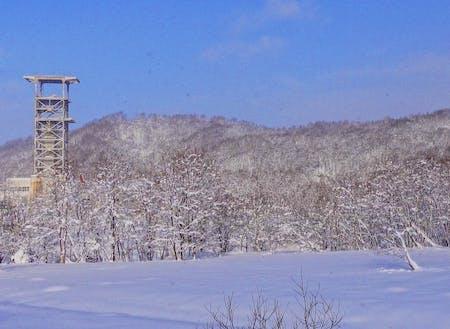 冬の上砂川町