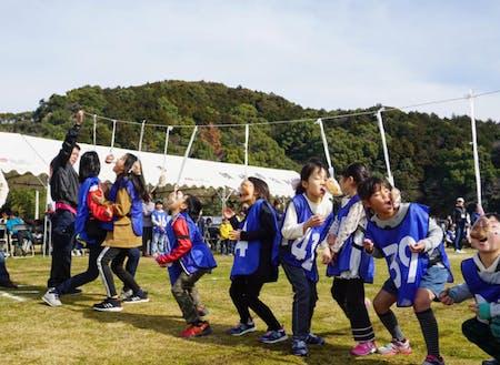 りぐる浦ノ内のイベント『鯛伊食祭(たいいくさい)』の様子